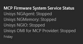 MCP Express System Tray Status Notification