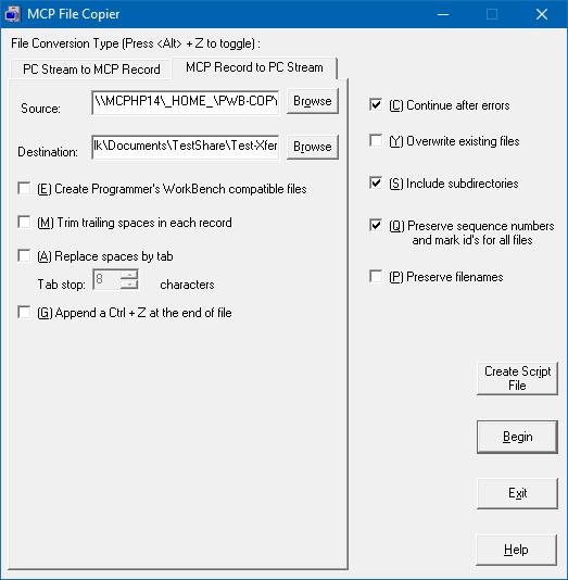 MCP File Copier MCP Record to PC Stream Tab